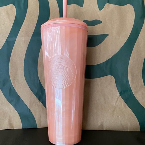 Starbucks Pink Dome Tumbler-Summer